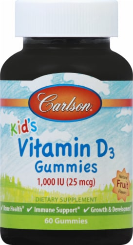 Carlson Labs Kids Vitamin D3 Gummies Perspective: front