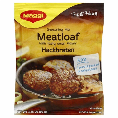 Maggi Meatloaf Seasoning Mix Perspective: front