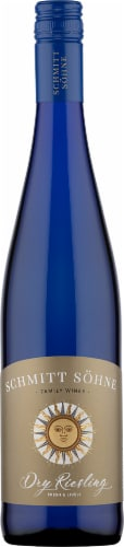 Schmitt Sohne Dry Riesling White Wine Perspective: front