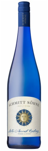 Schmitt Sohne Late Harvest Riesling White Wine Perspective: front
