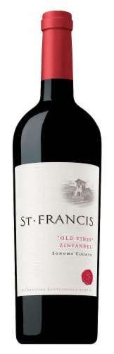 St. Francis Sonoma County Old Vines Zinfandel Perspective: front