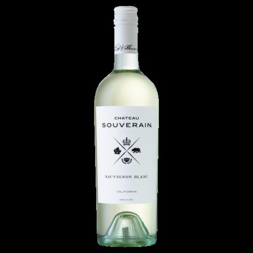 Chateau Souverain Sauvignon Blanc White Wine Perspective: front