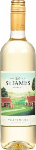 St. James Winery Velvet White Perspective: front