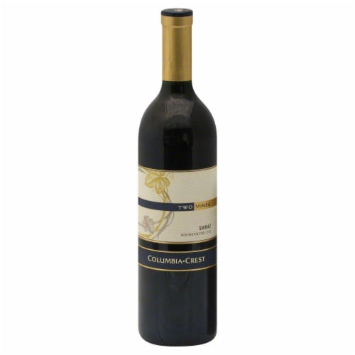 Columbia Crest Two Vines Shiraz Perspective: front