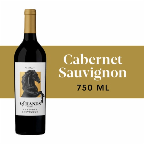 14 Hands Cabernet Sauvignon Red Wine Perspective: front