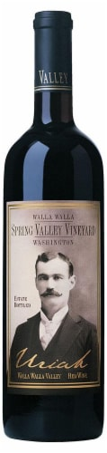 Spring Valley Vineyard Uriah Red Blend Perspective: front