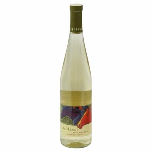 14 Hands Riesling 750 mL Perspective: front