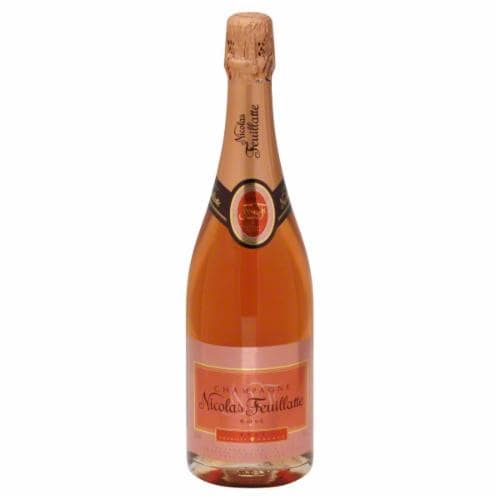 Nicolas Feuillatte Brut Rose Champagne Perspective: front