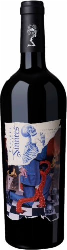 Sinners & Saints Prayers of Sinners Red Blend Perspective: front