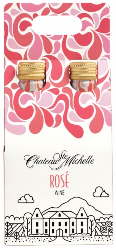 Chateau Ste Michelle Rose Wine Perspective: front