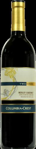 Columbia Crest Two Vines Merlot-Cabernet Perspective: front
