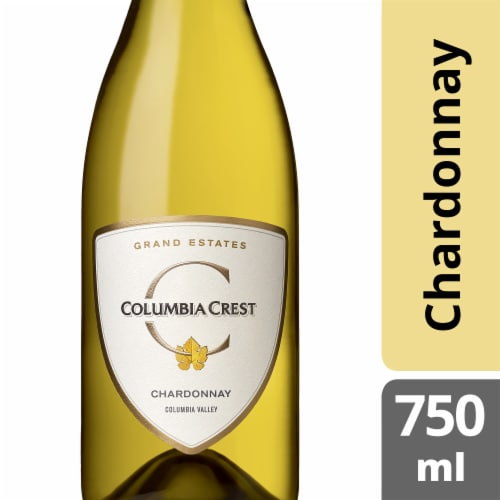 Columbia Crest Grand Estates Chardonnay Perspective: front