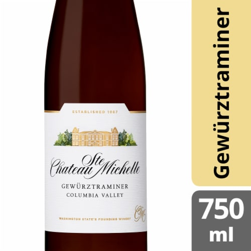 Chateau Ste. Michelle Gewurztraminer Perspective: front
