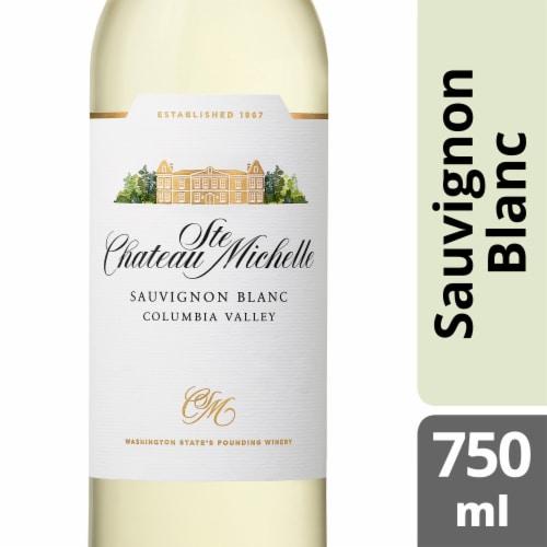 Chateau Ste Michelle Sauvignon Blanc White Wine Perspective: front