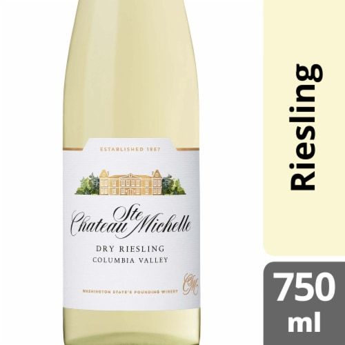 Chateau Ste Michelle Dry Riesling Perspective: front