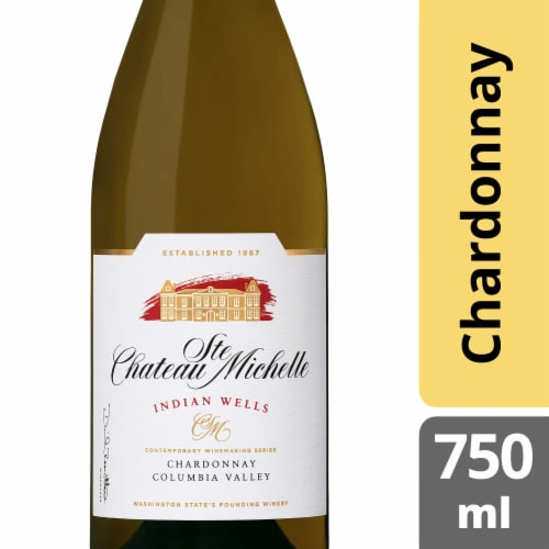 Chateau Ste Michelle Indian Wells Chardonnay White Wine Perspective: front