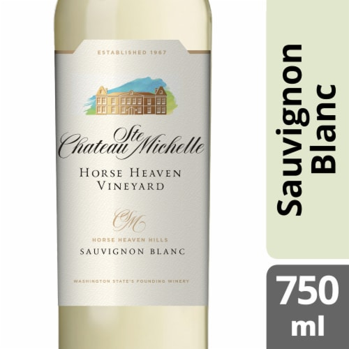 Chateau Ste Michelle Horse Heaven Vineyard Sauvignon Blanc Perspective: front