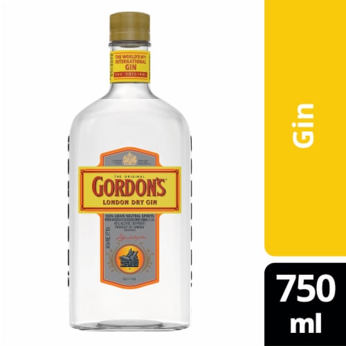 Gordon's London Dry Gin Perspective: front