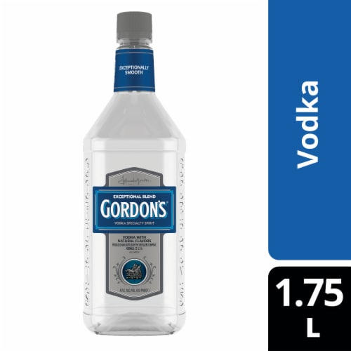 Gordon's Exceptional Blend (Vodka with Natural Flavors) Perspective: front