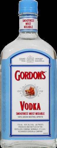 Gordon's Vodka Perspective: front