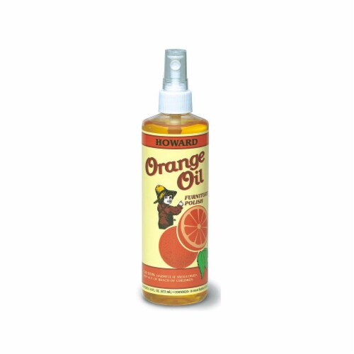 Howard Products Orange Oil Furniture Polish Perspective: front