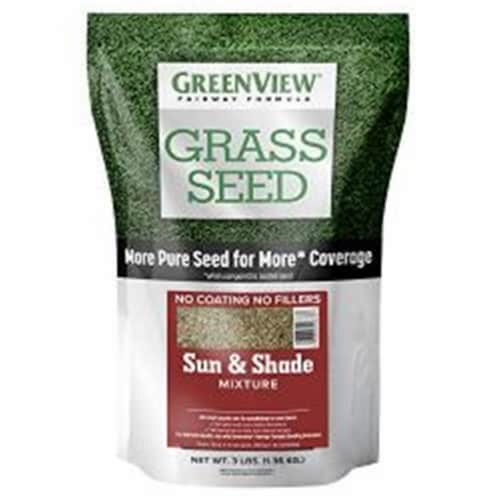 Greenview 28-29333 3 lbs Fairway Formula Grass Seed Sun & Shade Mixture Perspective: front