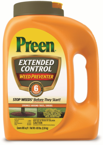 Preen Extended Control Weed Preventer Perspective: front
