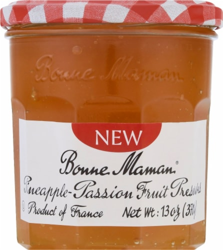 Bonne Maman Pineapple Passion Fruit Preserves Perspective: front