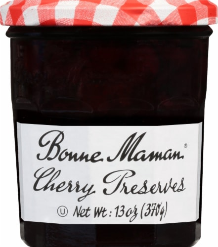 Bonne Maman Cherry Preserves Perspective: front