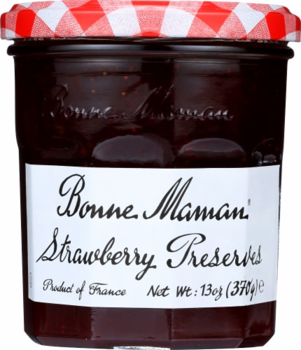 Bonne Maman Strawberry Preserves Perspective: front