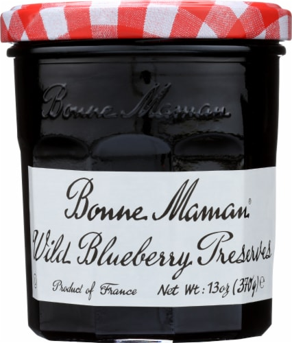 Bonne Maman Wild Blueberry Preserves Perspective: front