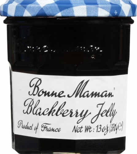 Bonne Maman Blackberry Jelly Perspective: front