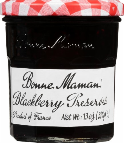 Bonne Maman Blackberry Preserves Perspective: front