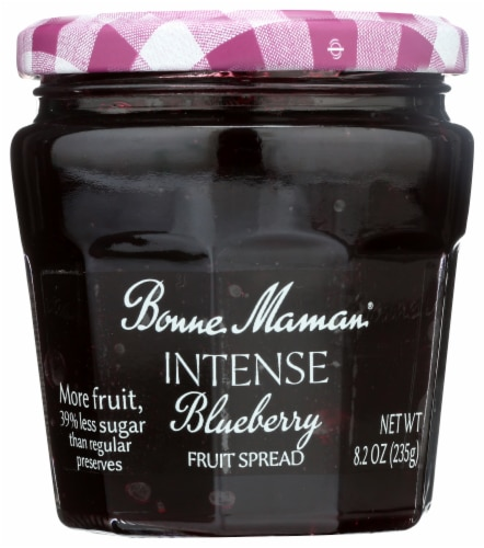 Bonne Maman Intense Blueberry Fruit Spread Perspective: front