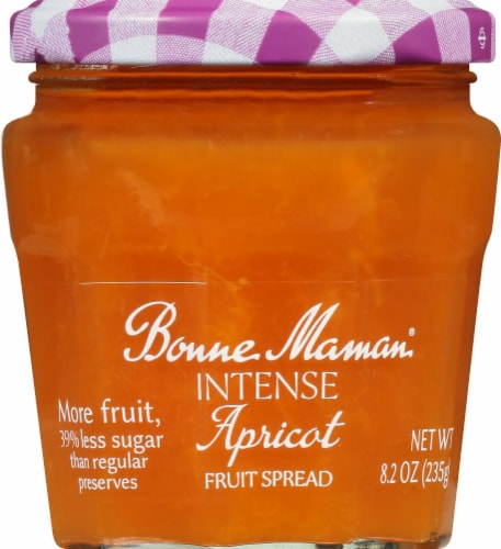 Bonne Maman Intense Apricot Fruit Spread Perspective: front