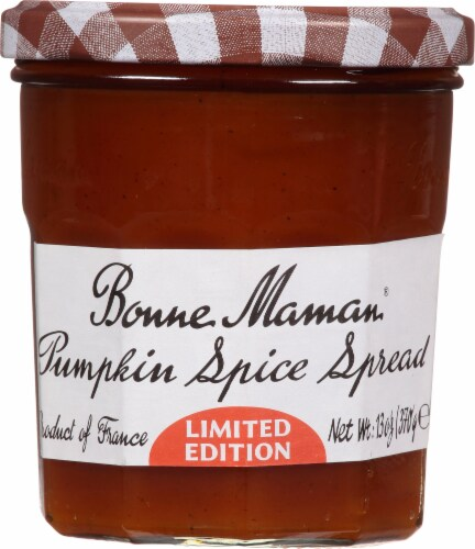 Bonne Maman Pumpkin Spice Spread Perspective: front