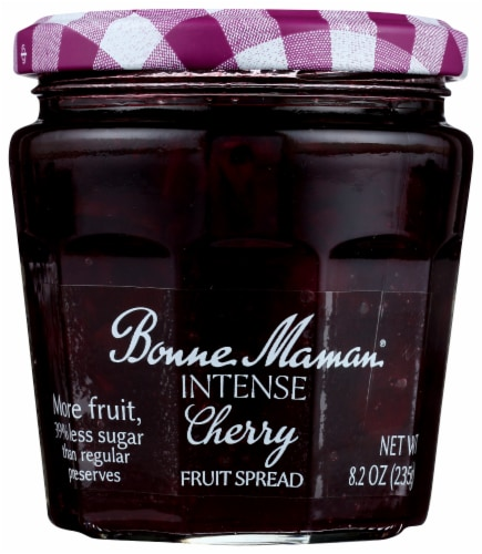 Bonne Maman Intense Cherry Fruit Spread Perspective: front