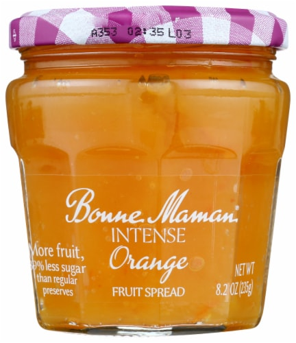 Bonne Maman Intense Orange Fruit Spread Perspective: front