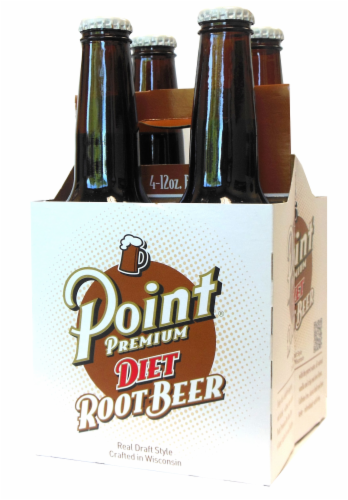 Point Premium Diet Root Beer Perspective: front