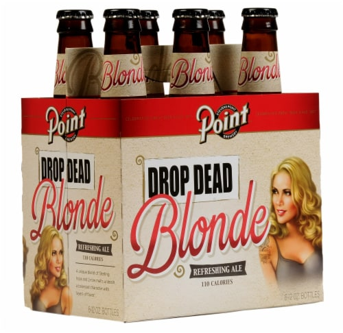 Point Drop Dead Blonde Refreshing Ale Perspective: front
