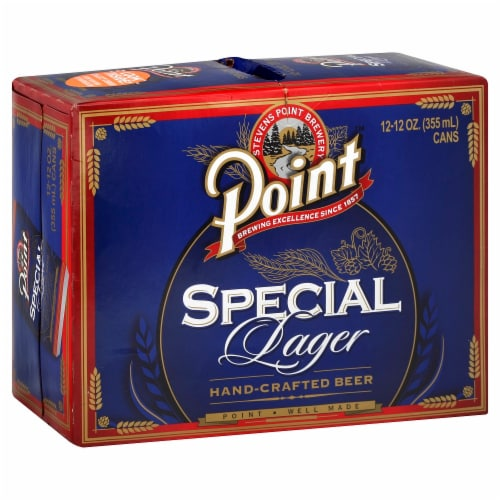 Point Special Lager Perspective: front