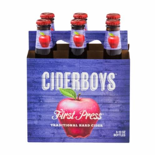 Cider Boys First Press Traditional Hard Cider Perspective: front