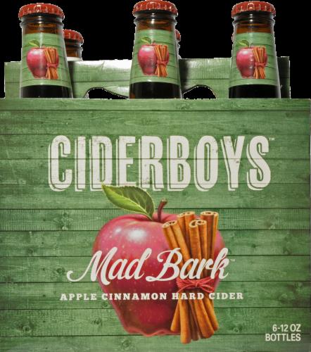 Cider Boys Mad Bark Apple Cinnamon Hard Cider Perspective: front
