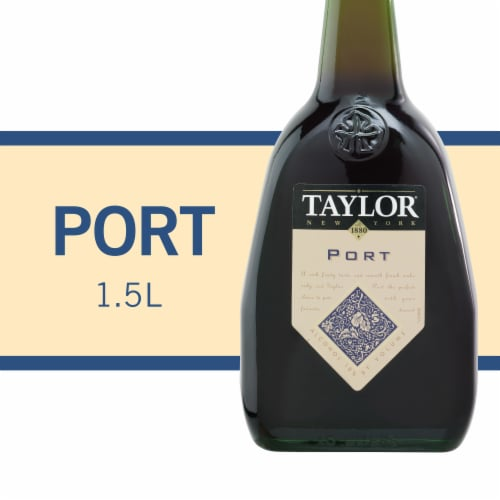 Taylor Desserts Port Red Wine Perspective: front