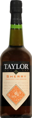 Taylor Cooking Sherry Perspective: front