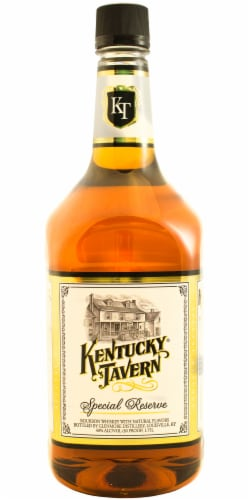 Kentucky Tavern Special Reserve Kentucky Straight Bourbon Whiskey Perspective: front