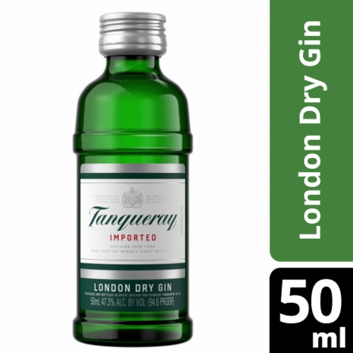Tanqueray London Dry Gin Perspective: front