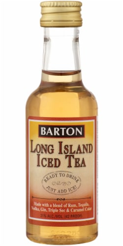 Barton Long Island Iced Tea Premade Cocktail Perspective: front