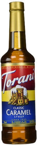 Torani Classic Caramel Syrup Perspective: front