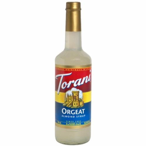 Torani Almond Ogeat Syrup Perspective: front